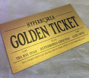 Hyperborea Golden Ticket